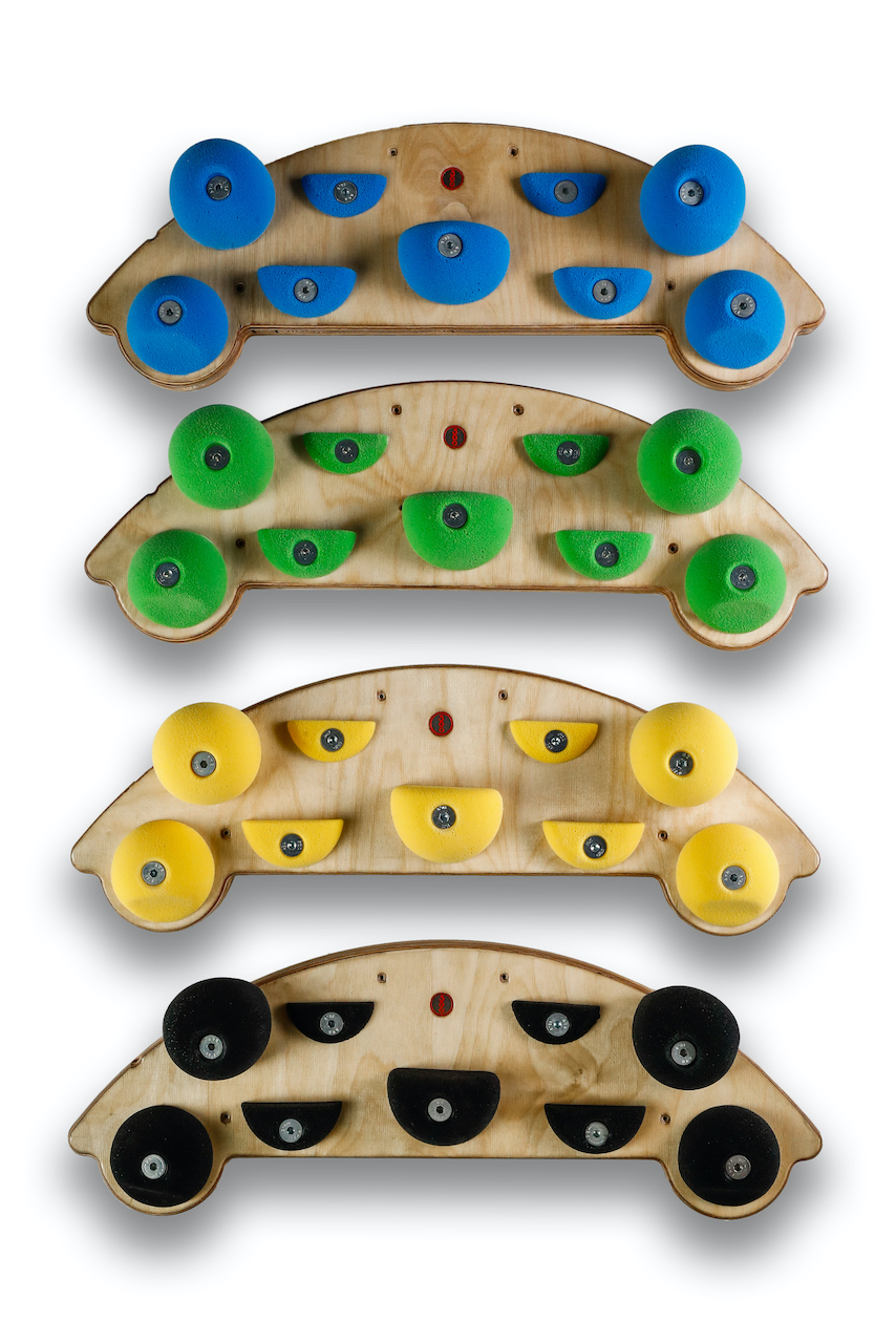 360Holds - Rainbow Hangboard