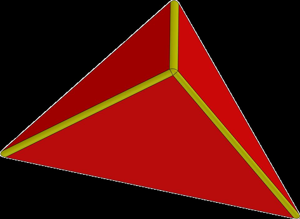 Blocz - Dreieck flach 1200