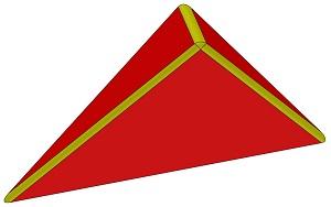 Blocz - Dreieck asym flach 1500 L