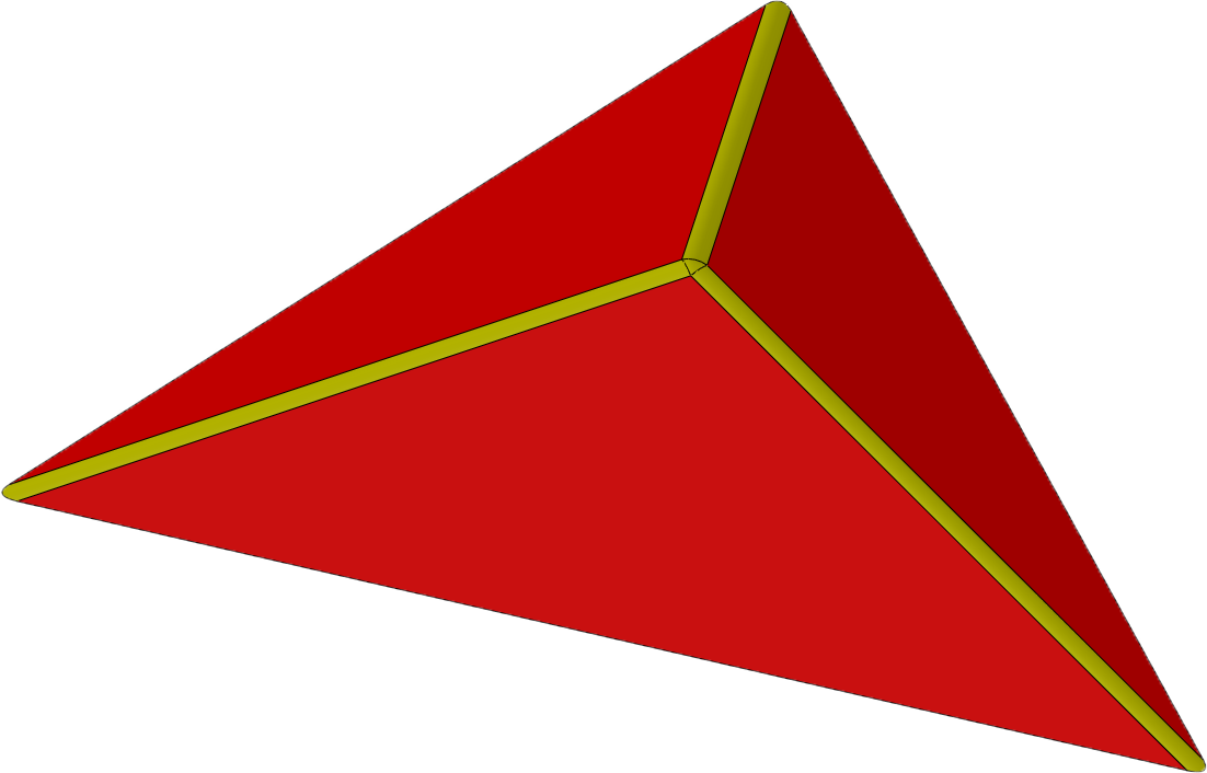 Blocz - Dreieck ultraflach 2000